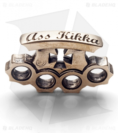 Lion ARMory Ass Kikka Pendant Bead Brass