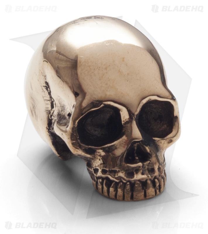 Lion Armory Classic Skull Bead Brass Blade Hq