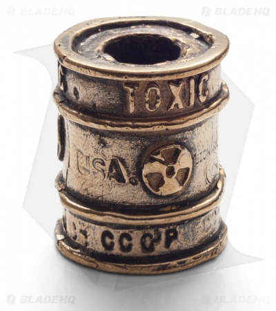 Lion ARMory Toxic Barrel Bead Brass