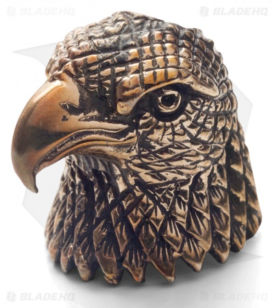 Lion ARMory American Eagle Bead Brass