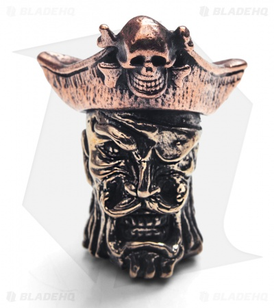 Lion ARMory Captain Blackbeard Bead Brass/Copper