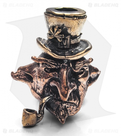 "Lion ARMory Leprechaun ""Grumpy O'Bourbon"" Bead Brass/Copper"
