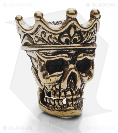 Lion ARMory King of the Dead Bead Brass