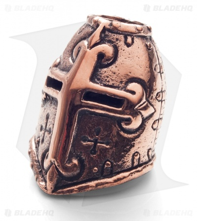Lion ARMory Crusader Helmet Bead Copper