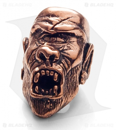Lion ARMory Cyclops Skull Bead Copper