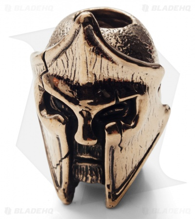 Lion ARMory King Leonidas Bead Brass
