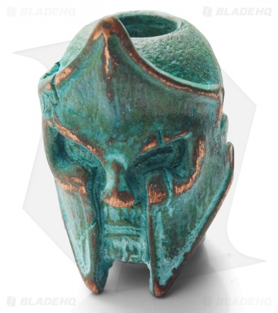 Lion ARMory King Leonidas Bead Copper 1000 Year Old Patina