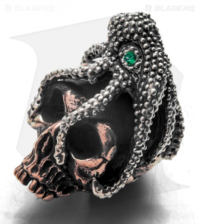 Lion ARMory Octoskull Lanyard Bead Copper/Silver