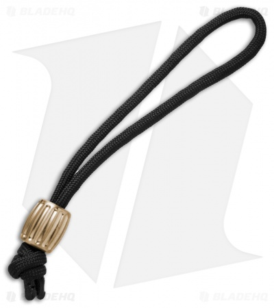 Maverick Workshop Barrel Bead Lanyard (Brass)