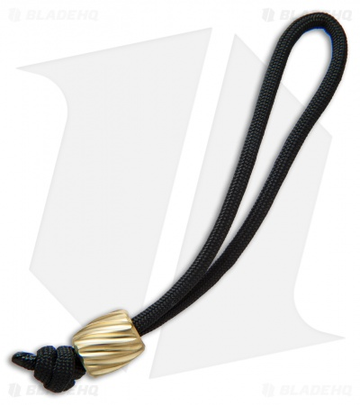 Maverick Workshop Helix Bead Lanyard (Brass)