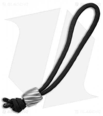Maverick Workshop Helix Bead Lanyard (Titanium)