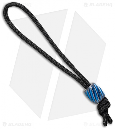 Maverick Workshop Helix Bead Lanyard (Blue Titanium)