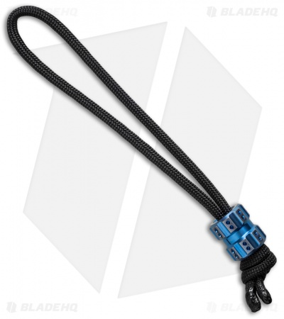 Maverick Workshop Muzzle Bead Lanyard (Blue Titanium)
