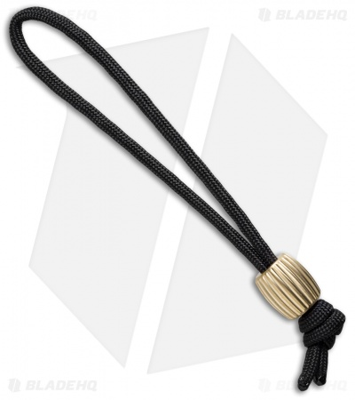 Maverick Workshop Toric Spline Bead Lanyard (Brass)