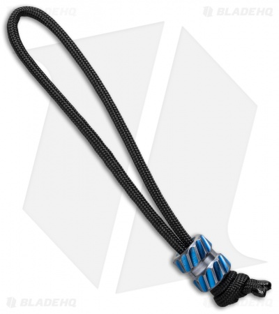 Maverick Workshop Traction Bead Lanyard (Blue Titanium)