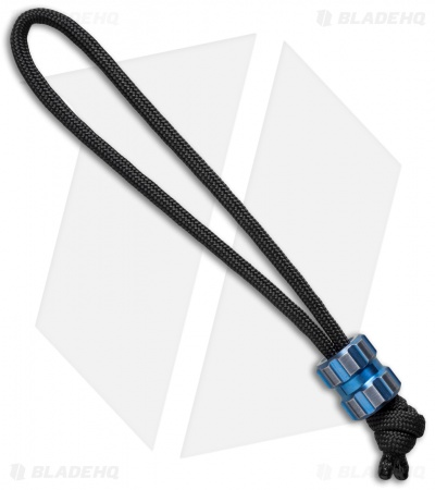 Maverick Workshop Tread Bead Lanyard (Blue Titanium)