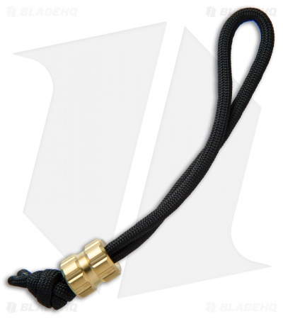 Maverick Workshop Tread Bead Lanyard (Brass)