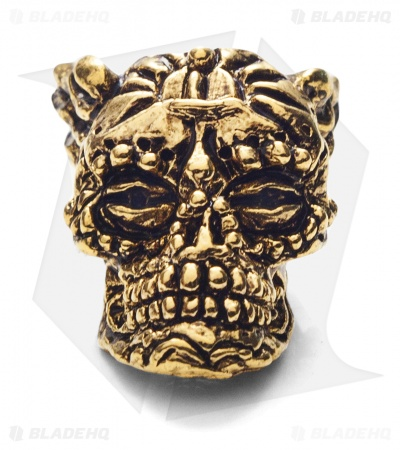 Schmuckatelli Aquilo Sugar Skull (18k Gold Plated)