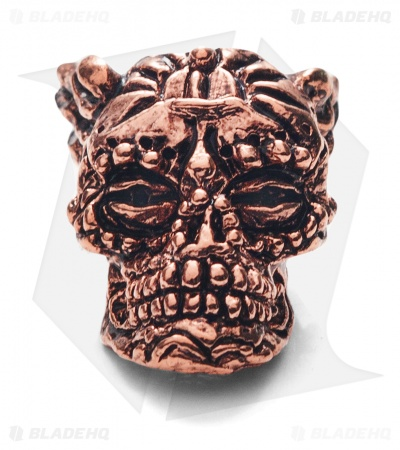 Schmuckatelli Aquilo Sugar Skull (Antique Copper)