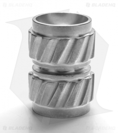 Ti2 Design HiTex Twist Titanium Bead - Tumbled