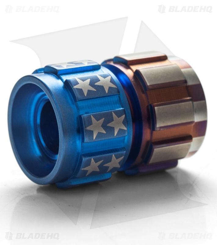 Ti2 Design Hitex Titanium Bead America Edition Blade Hq