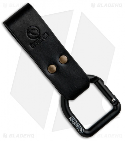 Casstrom No. 3 Dangler Sheath Extension Carabiner D-Ring (All Black)