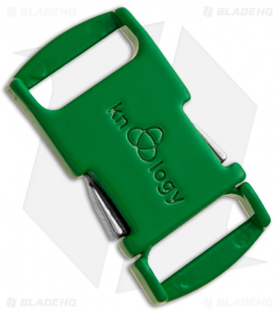 "Knottology Nito 1/2"" Full Metal Spring Assisted Snap Lock Buckle (Green)"