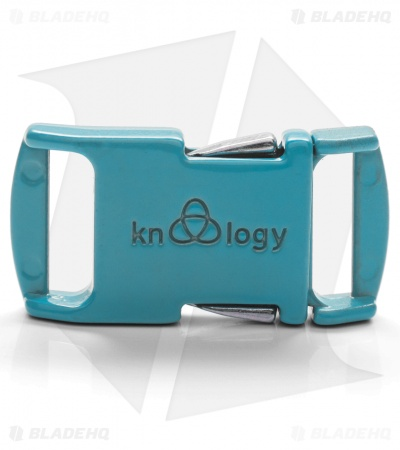 "Knottology Nito 1/2"" Full Metal Spring Assisted Snap Lock Buckle (Baby Blue)"