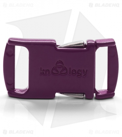 "Knottology Nito 1/2"" Full Metal Spring Assisted Snap Lock Buckle (Magenta)"