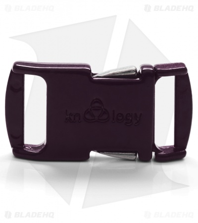 "Knottology Nito 1/2"" Full Metal Spring Assisted Snap Lock Buckle (Maroon)"