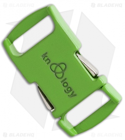 "Knottology Nito 1/2"" Full Metal Spring Assisted Snap Lock Buckle (Clover)"