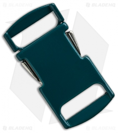 "Knottology Nito 1/2"" Full Metal Spring Assisted Snap Lock Buckle (Forest Green)"