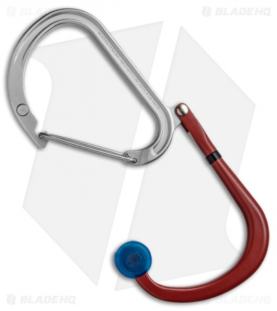 "Qlipter ""Fire & Ice"" Carabiner Clip and Hook Red/Blue Qlip01"
