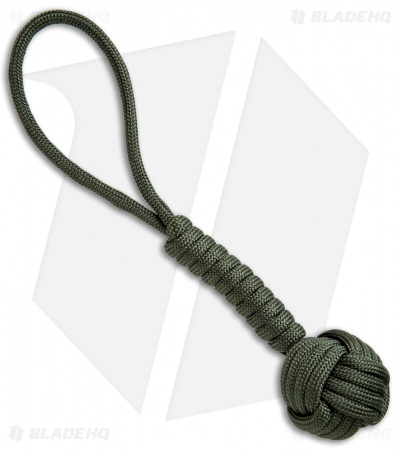 "Combat Ready 5.75"" Monkey Fist Lanyard (OD Green)"