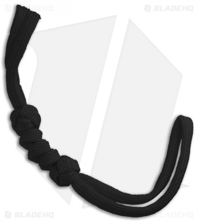 Grindworx Knotted Paracord Lanyard - Black