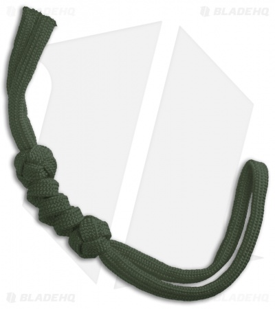 Grindworx Knotted Paracord Lanyard - OD Green