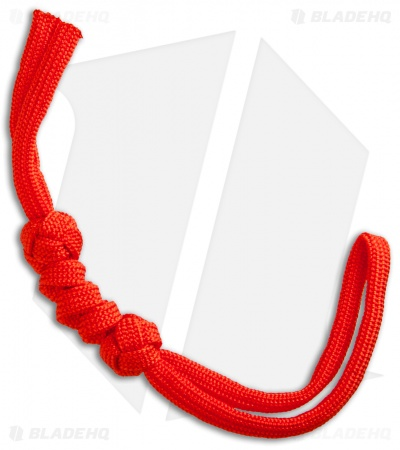 Grindworx Knotted Paracord Lanyard - Red
