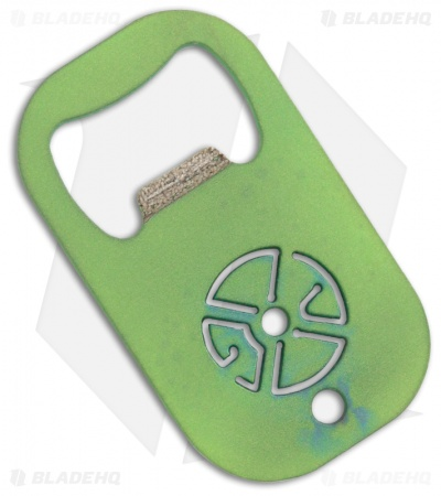 Gray Precision Titanium BET Beverage Entry Tool (Toxic Green)