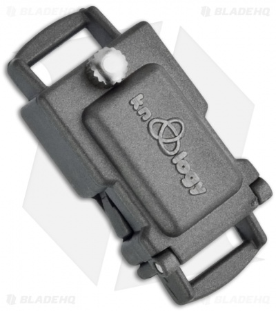 "Knottology Guardian Expedition 3/4"" Metal Clasp & Storage (Gunmetal)"