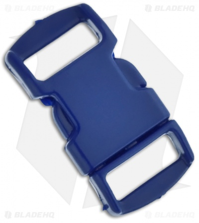 "Knottology 3/8"" Plastic Knot Clip Buckle (Dark Blue)"
