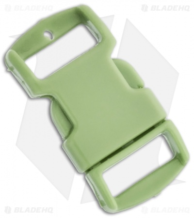 "Knottology 3/8"" Plastic Knot Clip Buckle (Lime Green)"