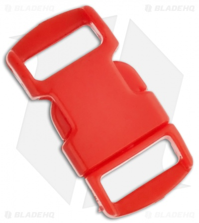 "Knottology 3/8"" Plastic Knot Clip Buckle (Red)"