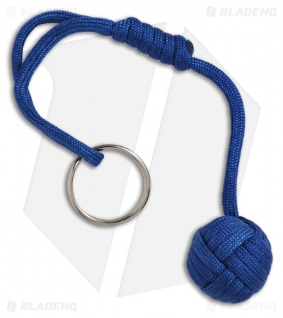 "Monkeyz Fist Royal Blue Paracord Lanyard Knot (Small 3/4"" Ball)"
