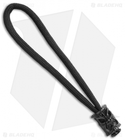 Schmuckatelli Ona Skull Bead Zipper Pull (Black)