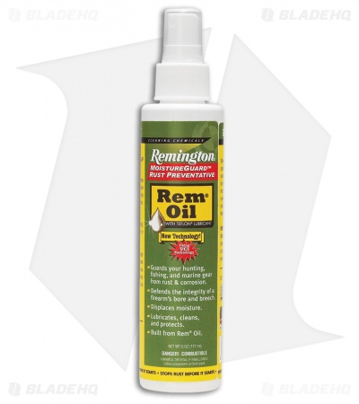 Remington 6 oz. Rem Oil w/ Moistureguard Spray Bottle