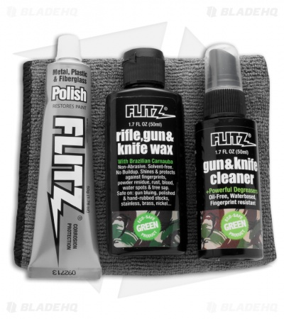 Flitz Knife Care Kit Clean Protect