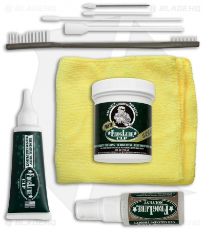 FrogLube CLP 4 oz. Premium Cleaner Kit w/ Cleaning Brush