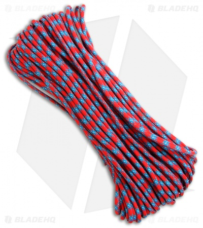 Confederate 550 Paracord Nylon Braided 7-Strand Core (100') USA