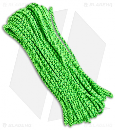Green Spec 550 Paracord Nylon Braided 7-Strand Core (100') USA