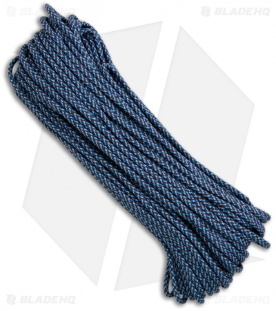 Blue Spec 550 Paracord Nylon Braided 7-Strand Core (100') USA